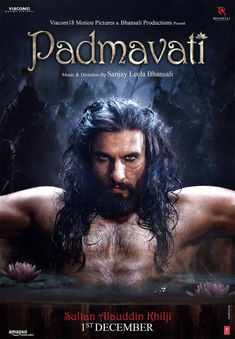 Ranveer Singh chilling like the hottest villain on the Padmavati poster