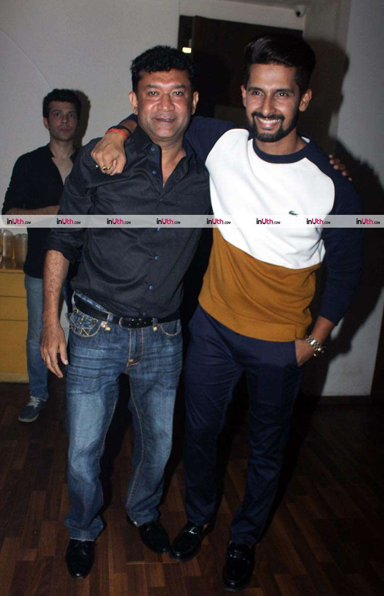 Ravi Dubey at wife Sargun Mehta's birthday bash