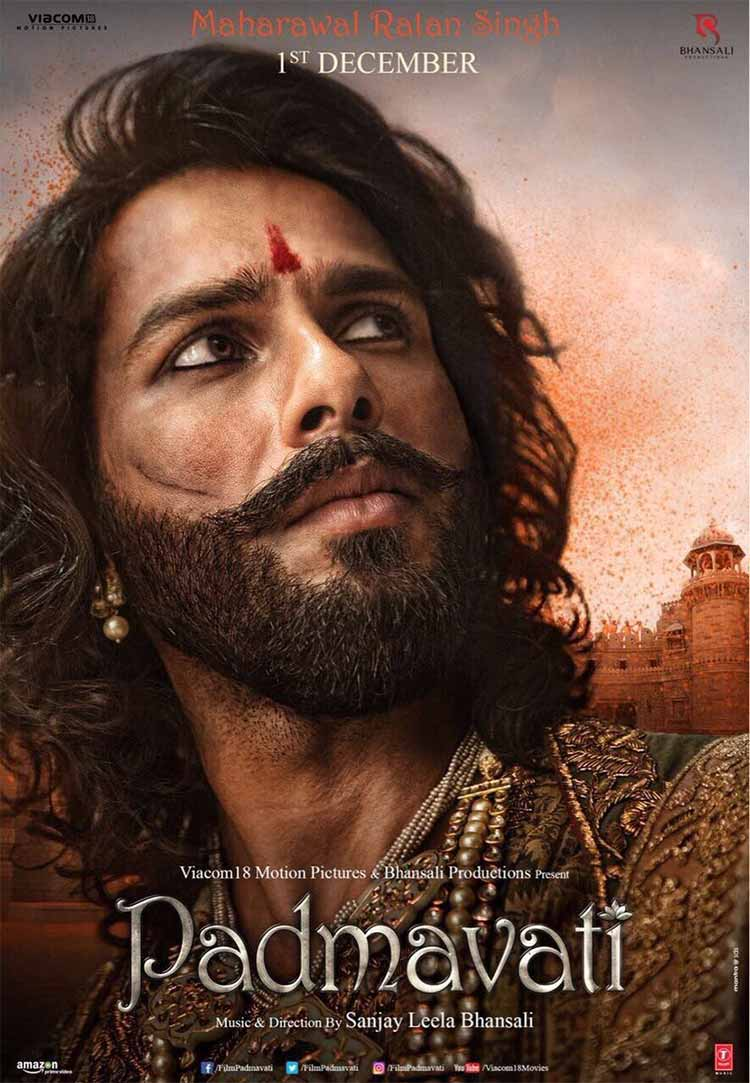 Shahid Kapoor's first look from Padmavati
