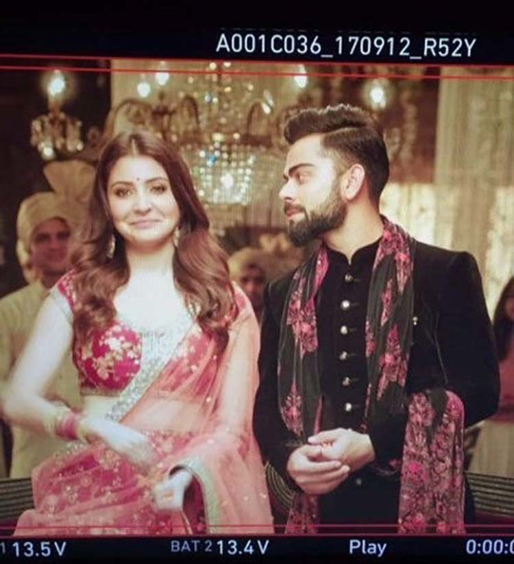 Virat Kohli just can't take his eyes off Anushka Sharma