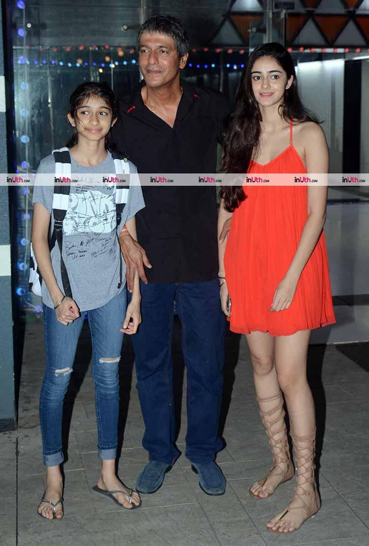 Ananya Pandey was looking beautiful at Sanjay Kapoor's Diwali party