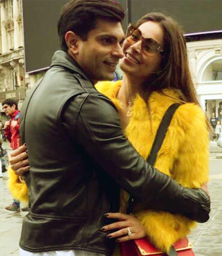 Bipasha Basu and Karan Singh Grover are high on romance