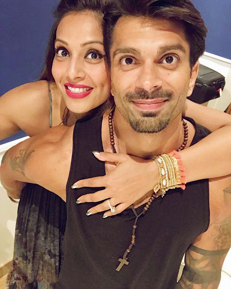 Bipasha Basu's birthday wish for Karan Singh Grover
