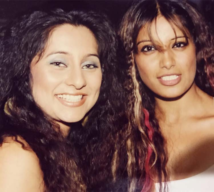 Bipasha Basu's throwback photo with VJ Anusha