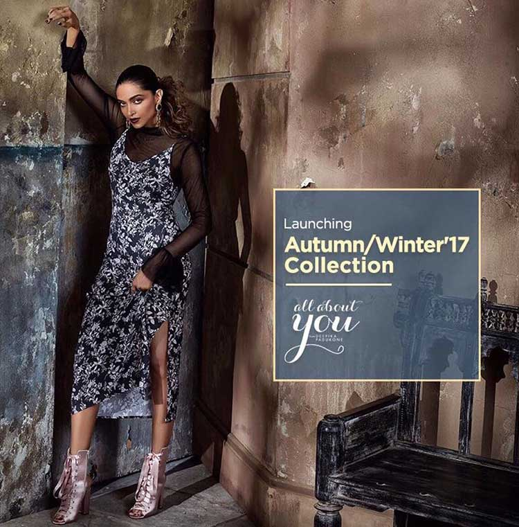 Deepika Padukone introduces Myntra's Autumn Winter collection