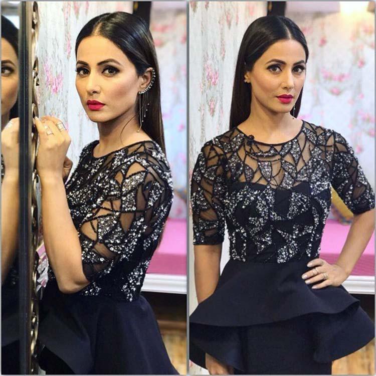 Hina Khan looked gorgeous at Khatron Ke Khiladi 8 finale