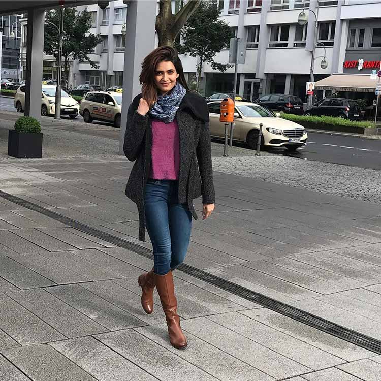 Karishma Tanna being awesome in Berlin