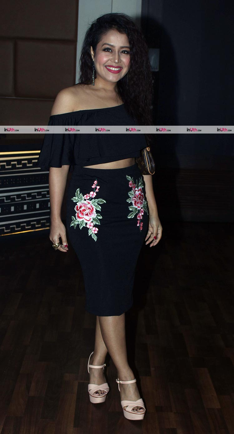 Neha Kakkar at Sargun Mehta's birthday bash