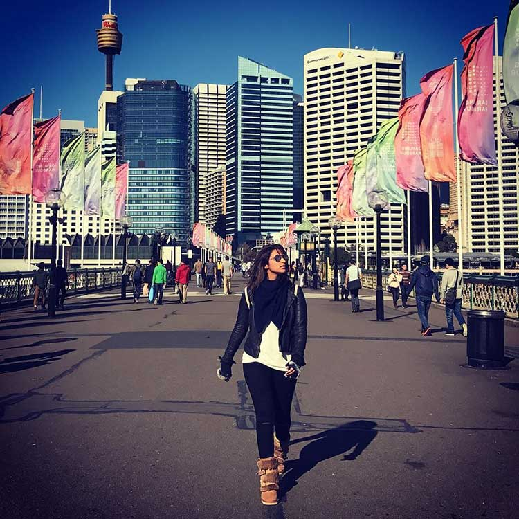 Parineeti Chopra owning the Sydney streets
