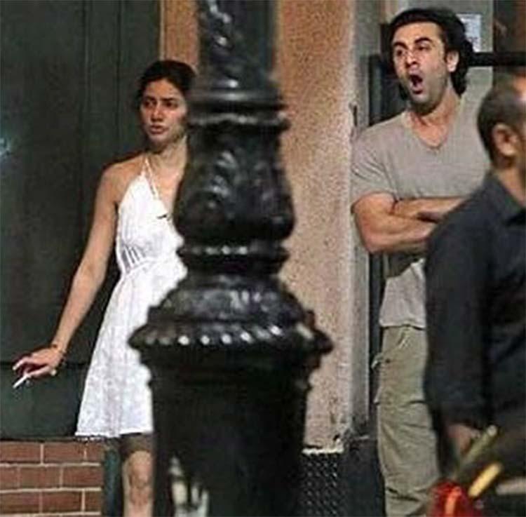 Mahira khan and ranbir kapoor dating in new york