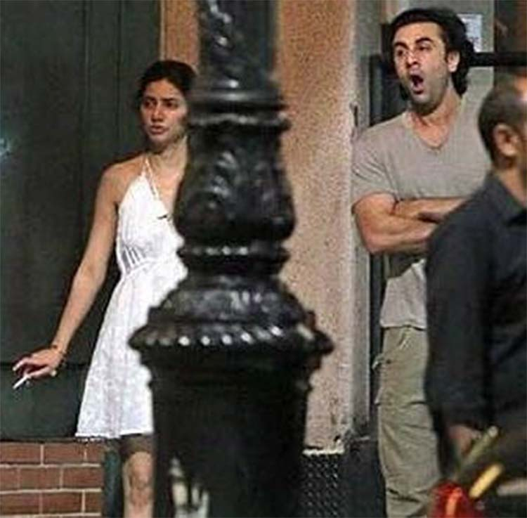 Ranbir Kapoor and Mahira Khan's lazy time in New York