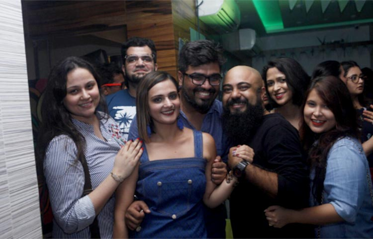 Shweta Rohira snapped at her pre-birthday celebration