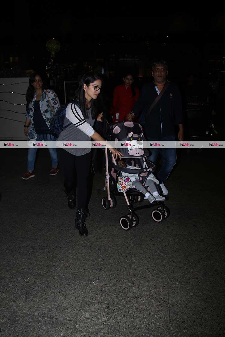 Sunny Leone taking daughter Nisha for a vacation