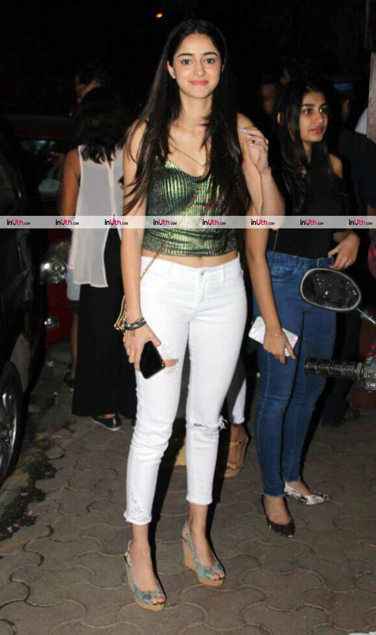Ananya Pandey's party-ready pic