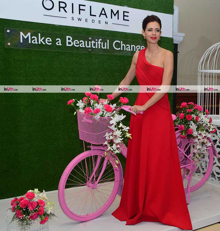 Kalki Koechlin at the Oriflame campaign launch event