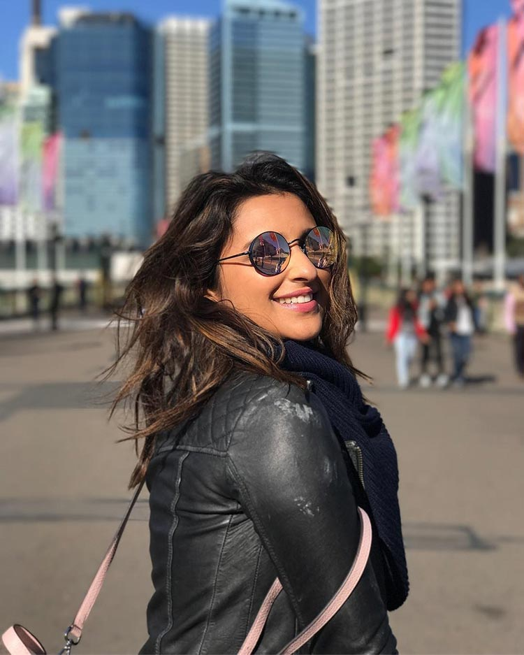 Parineeti Chopra is enjoying her time in Australia a lot