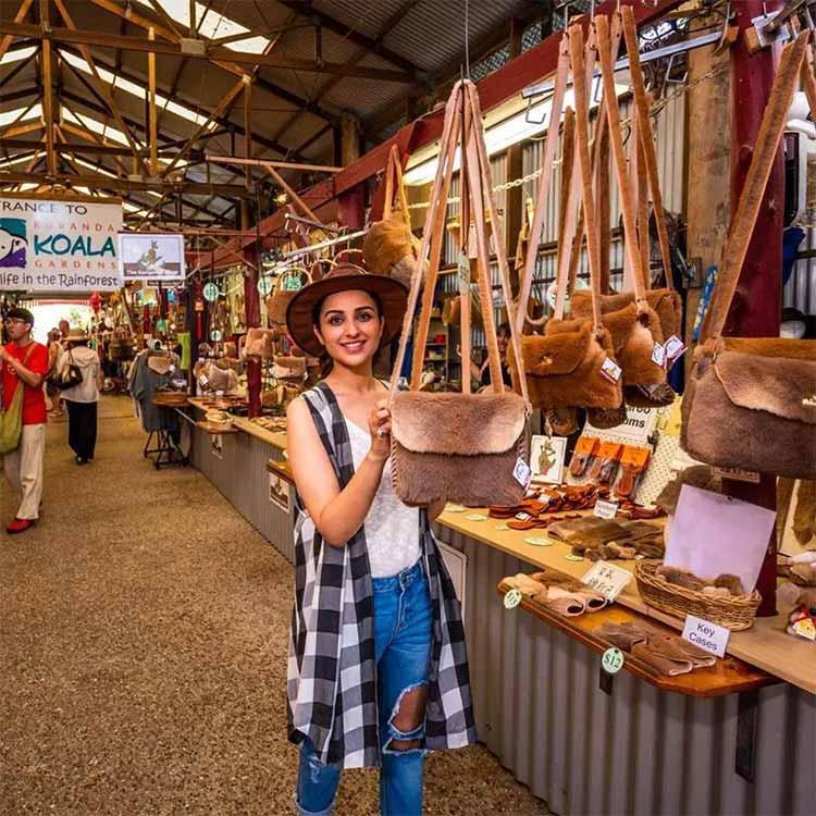 Parineeti Chopra shopping in Australia