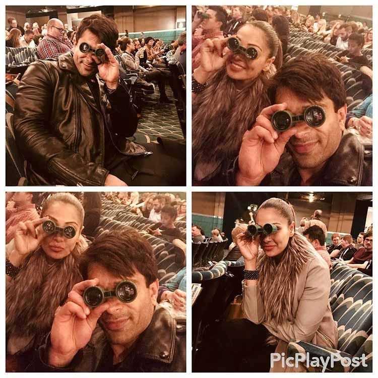 Karan Singh Grover and Bipasha Basu attend a musical in London