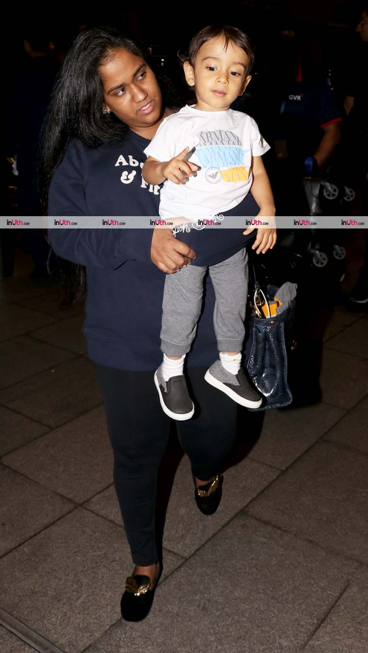 Little Ahil in conversation with mother Arpita
