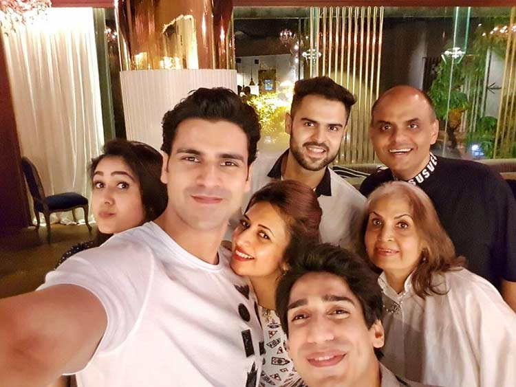 Vivek Dahiya's selfie from last night's dinner