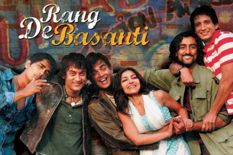 Rang De Basanti, Aamir Khan