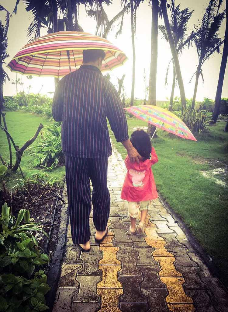Akshay Kumar has found his sunshine in daughter Nitara