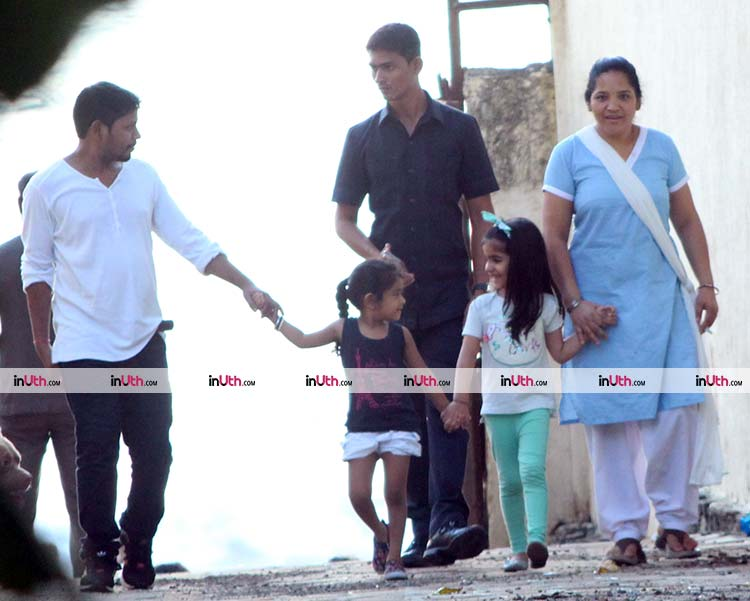 Akshay Kumar's daughter Nitara spotted in Mumbai