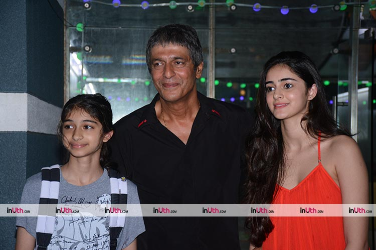 Ananya Pandey spotted at a Diwali party on Tuesday