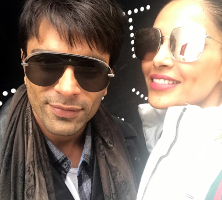 Bipasha Basu and Karan Singh Grover are chilling in London now