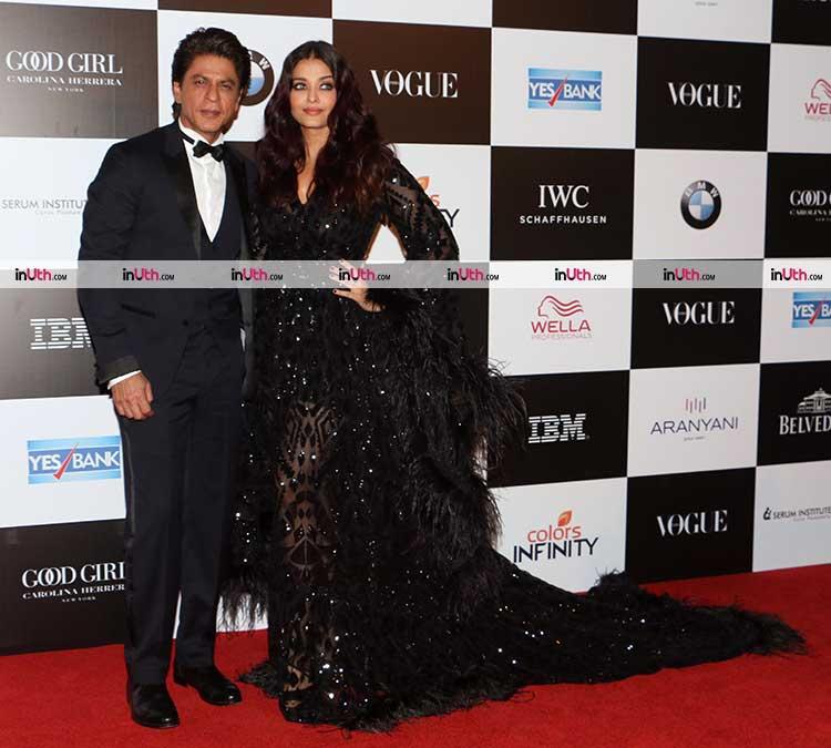 Shah Rukh Khan and Aishwarya Rai's stunning chemistry at recent award event