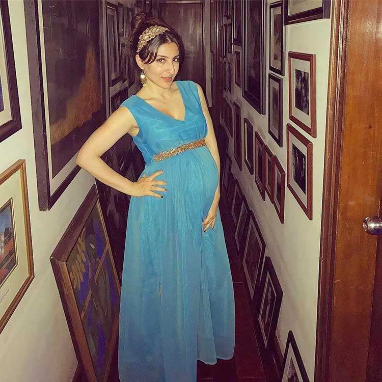 Soha Ali Khan was a royal princess in her pregnancy looks