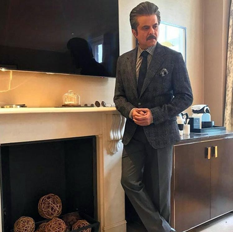 Anil Kapoor at Anooshe Mussarat's wedding in London