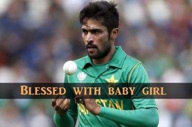 Mohammad Amir blessed with baby girl