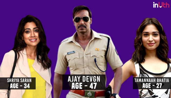 Ajay Devgn, Bollywood, Actor, Actress, Age Difference