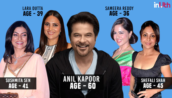 Anil Kapoor, Bollywood, Actor, Actress, Age Difference
