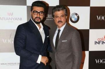 Vogue Awards 2017 Anil and Arjun Kapoor's candid moments photo