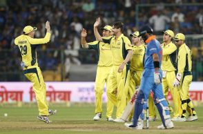 India vs Australia 4th ODI Highlights, Australia vs India, Bengaluru ODI, M Chinnaswamy Stadium, IND vs AUS, AUS vs IND, Virat Kohli, Hardik Pandya, David Warner 100th ODI