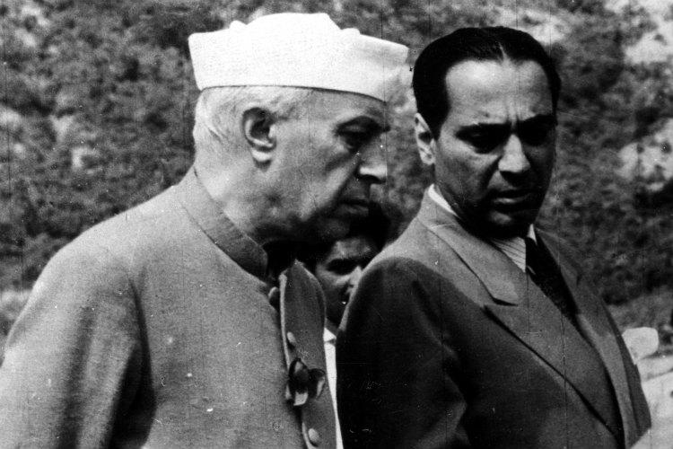Homi Jehangir Bhabha, Pandit Jawaharlal Nehru