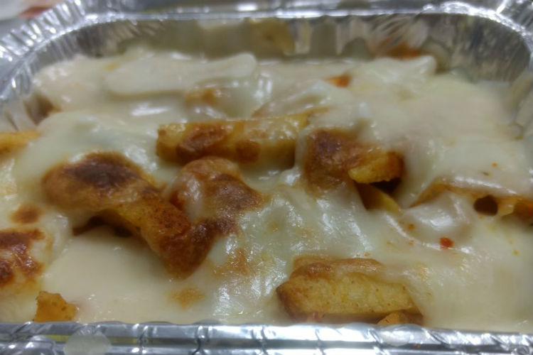 cheesy fries, noida, food