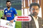Chetan Sharma, Virat Kohli, Kuldeep Yadav, Chetan Sharma hattrick, Virat Kohli Man of the match award, Kuldeep Yadav hattrick, India vs Australia, IND vs AUS, Eden Gardens ODI