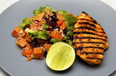 keto diet, chicken salad, health