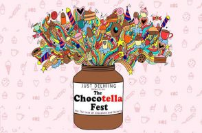 Chocotella Fest, food