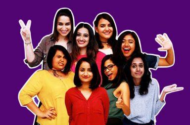 Queens of Comedy, Queens of Comedy India, Queens of Comedy TLC India, TLC, TLC India, Richa Chadda, Kaneez Surka, Rohan Joshi, Varun Thakur, All India Bakchod, Bollywood, Bollywood actress, female comic, female standup comics, standup comedy, standup comics, Saadiya Ali, Anshita Kaul, Urooj Ashfaq, Jhansi Dramaqueen, Surbhi Bagga, Ayushi Jagad, Niveditha Prakasam, Dwijal Mehta, YouTube, Chenni, jammu, Jammu and kashmir, Mumbai, Pune, viral comedy