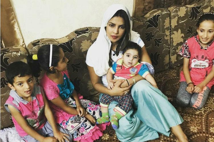 Priyanka Chopra, Jordan