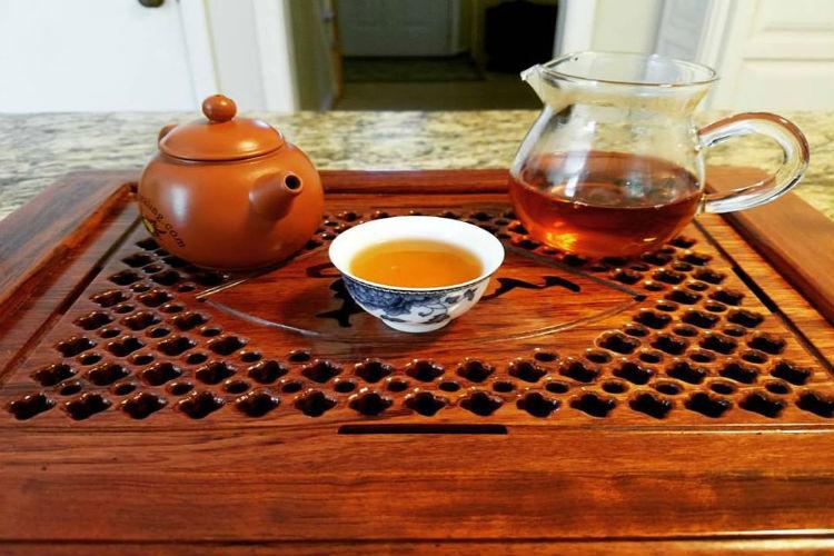 tea, food