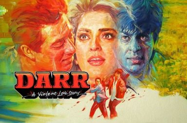 Shah Rukh Khan and Sunny Deol in Darr