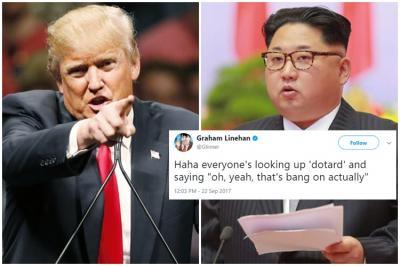 Donald Trump, Dotard, Kim Jong Un