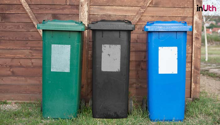 Explained: What do three coloured dustbins mean and why