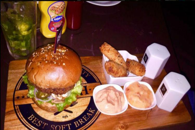 burger, delhi