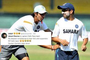 Ishant Sharma, Delhi captain, Ranji Trophy 2017-18, Ranji Trophy Delhi, Ishant Sharma trolled. Gautam Gambhir, Ishant Sharma jokes